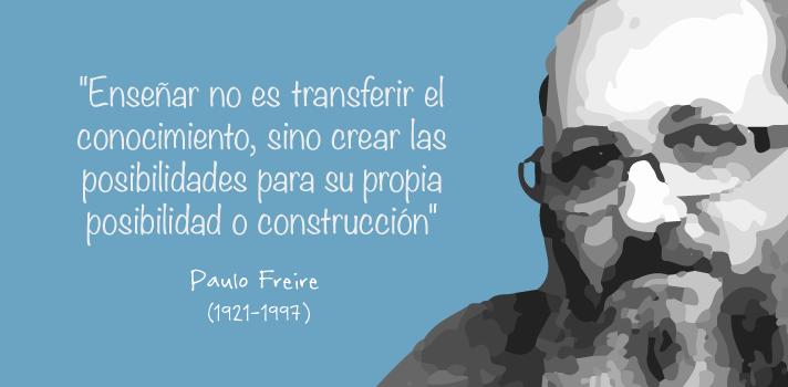 Paulo Freire y la educacion popular